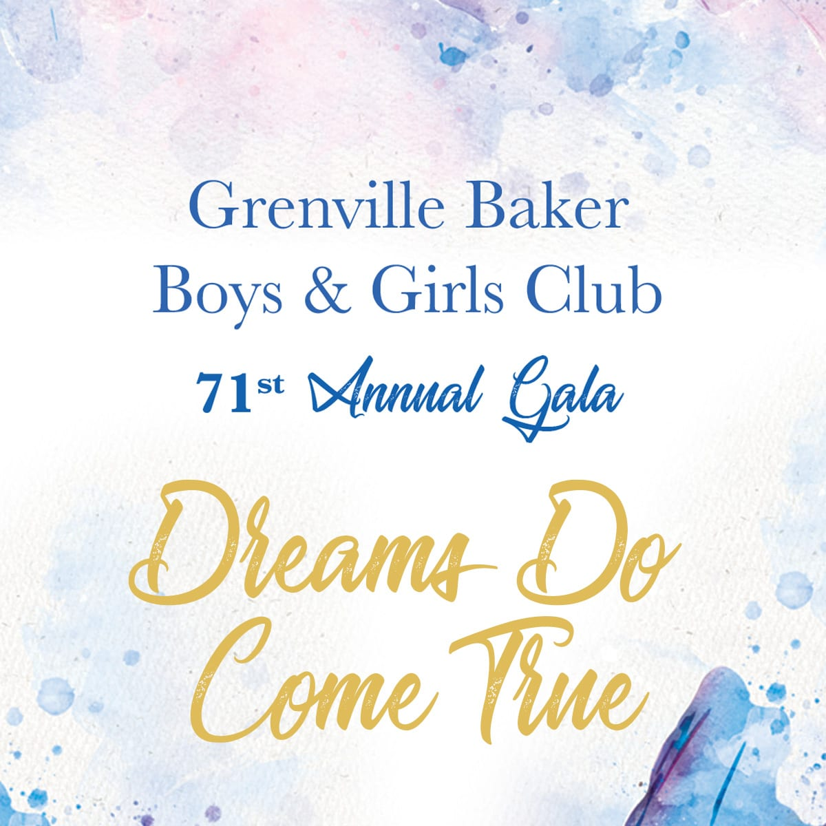 2021 Gala banner