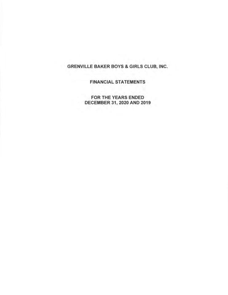 Audited Financial Statement 2020
